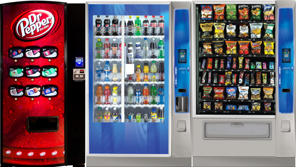 Houston vending machines
