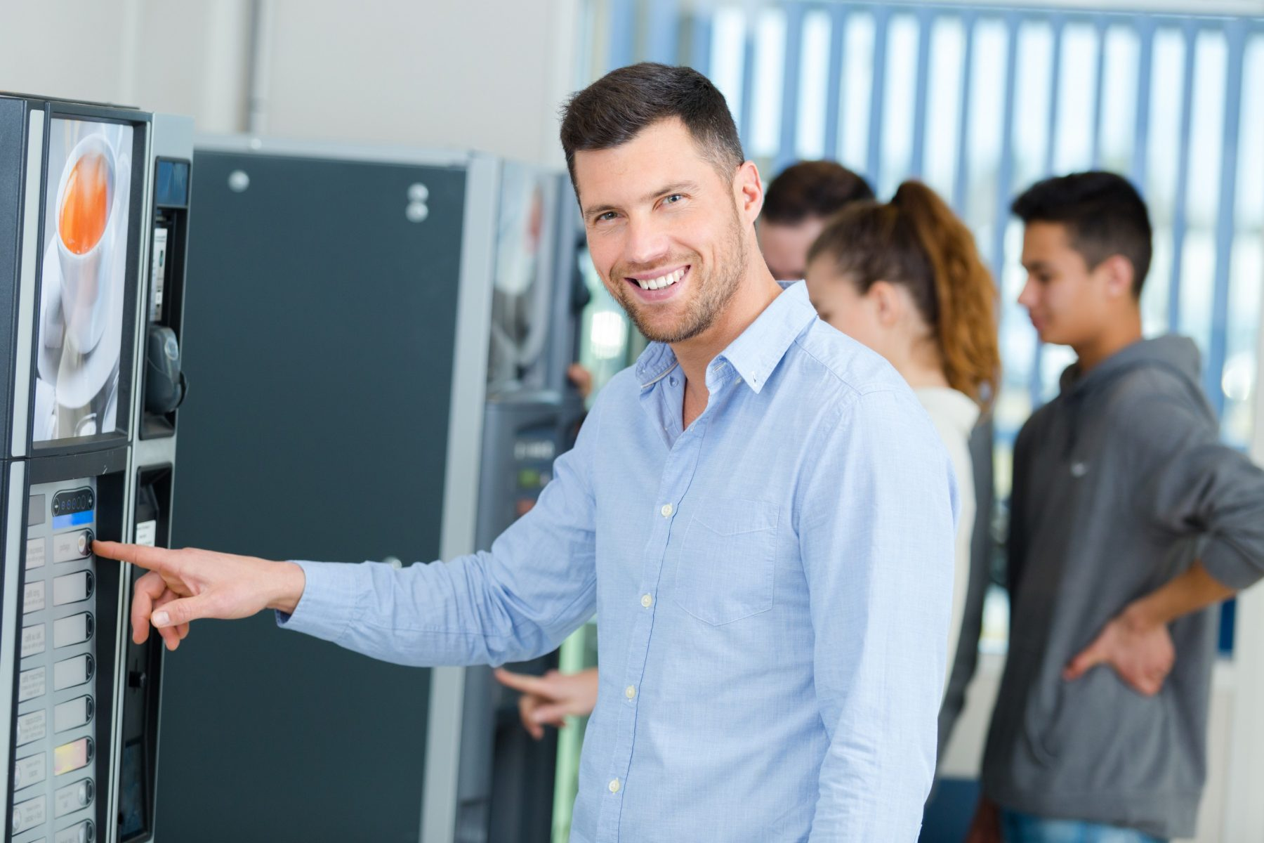 vending technology in houston break rooms