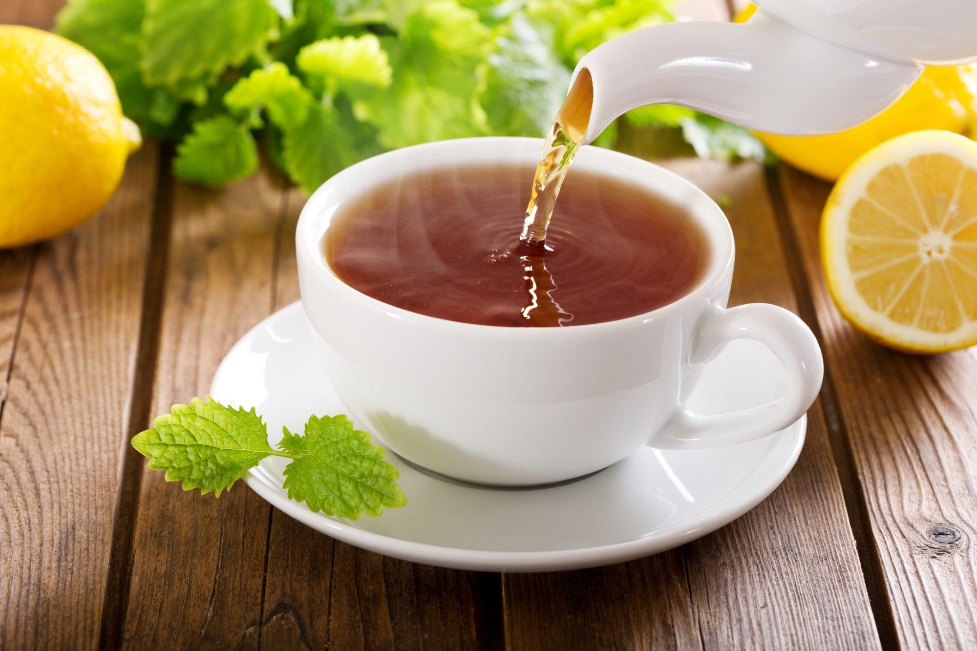 Caffeinated Tea Options in Houston